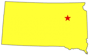 Redfield, SD Map